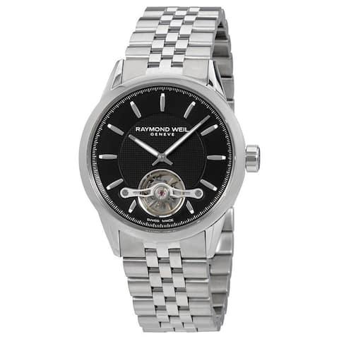 Raymond Weil Men's 'Freelancer' Automatic Stainless Steel Watch
