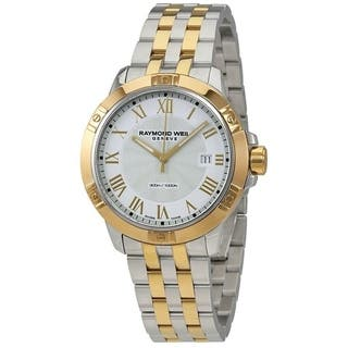 Raymond Weil Men's 'Tango' Two-Tone Stainless Steel Watch