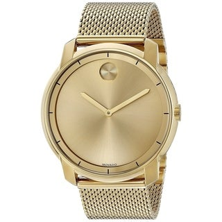 Movado Men's 3600373 'Bold' Gold-Tone Stainless Steel Watch
