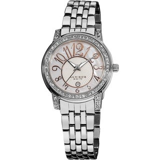 Link to Akribos Women's AK586SS 'XXIV' Crystal Stainless Steel Watch Similar Items in Women's Watches