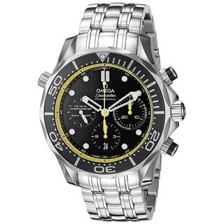 Omega Men's O21230445001002 'Seamaster' Chronograph Automatic Stainless Steel Watch