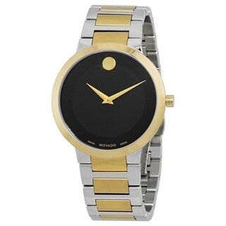 Movado Men's 'Modern Classic' Two-Tone Stainless Steel Watch
