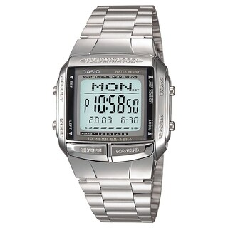 Casio Women's DB-360-1A 'Classic' Digital Stainless Steel Watch