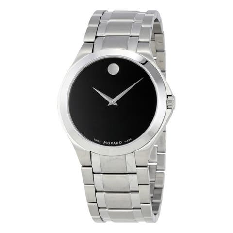 Movado Men's 'Museum' Stainless Steel Watch