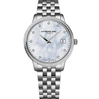 Raymond Weil Women's 'Freelancer' Diamond Stainless Steel Watch