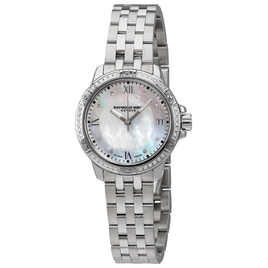 Raymond Weil Women's  'Tango' Diamond Stainless Steel Watch
