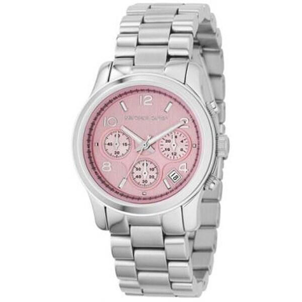 Michael Kors Women's 'Runway' Chronograph Stainless Steel Watch