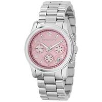 Michael Kors Women's  'Runway' Chronograph Stainless Steel Watch