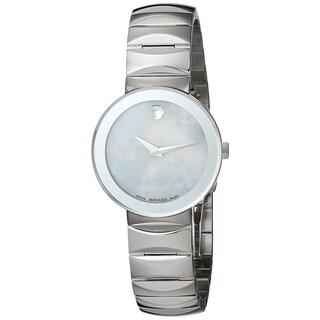 Movado Women's 'Sapphire' Stainless Steel Watch