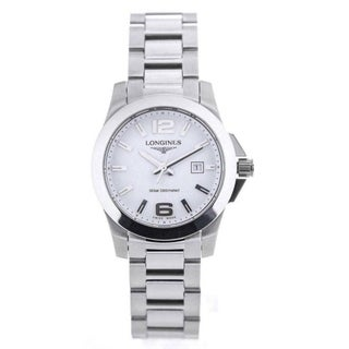 Longines Women's 'Conquest' Stainless Steel Watch