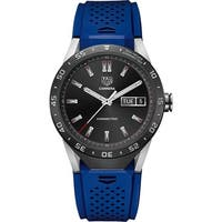 c79a6fdd01b7d Tag Heuer Men s SAR8A80.FT6058  Connected  Smartwatch Android 4.3+ IOS 8.2+