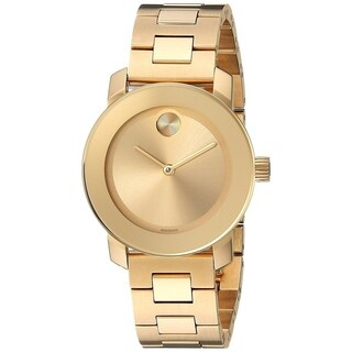 Movado Women's 3600434 'Bold' Gold Tone Stainless Steel Watch