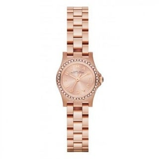 Marc Jacobs Women's MBM3278 'Amy' Crystal Rose-Tone Stainless Steel Watch