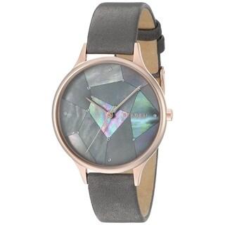 Skagen Women's SKW2390 'Anita' Crystal Constellation Grey Leather Watch