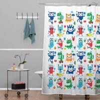 Andi Bird Monster Love Shower Curtain