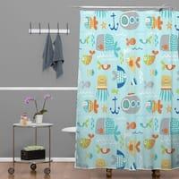 Wendy Kendall Sealife Shower Curtain