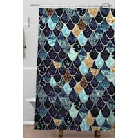 Monika Strigel Really Mermaid Mystic Blue Shower Curtain