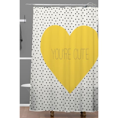 Allyson Johnson You Are Cute Shower Curtain