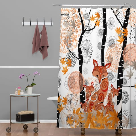 Monika Strigel Hello Foxy Shower Curtain