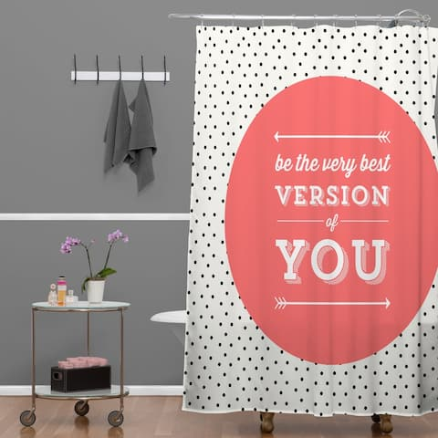 Allyson Johnson Be The Best Version Of You Shower Curtain