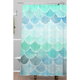 Wonder Forest Mermaid Scales Shower Curtain