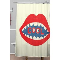Nick Nelson Cool Mouth Shower Curtain
