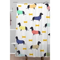 Hello Sayang Doggies Shower Curtain
