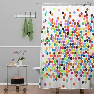 Buy White Polka Dot Shower Curtains Online At Overstock Our Best