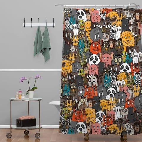 Sharon Turner Plushies Shower Curtain
