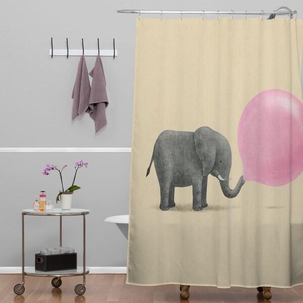 Terry Fan Jumbo Bubble Gum Shower Curtain. Opens flyout.