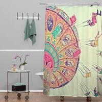 Shannon Clark Dizzying Heights Shower Curtain
