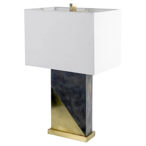 Mercana Melrose I Yellow Metal Table Lamp