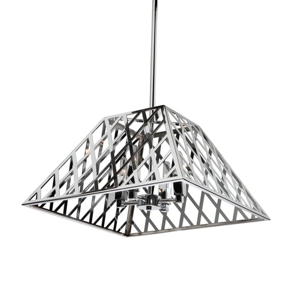 Artcraft Lighting Jardin 4 Light Chrome Chandelier