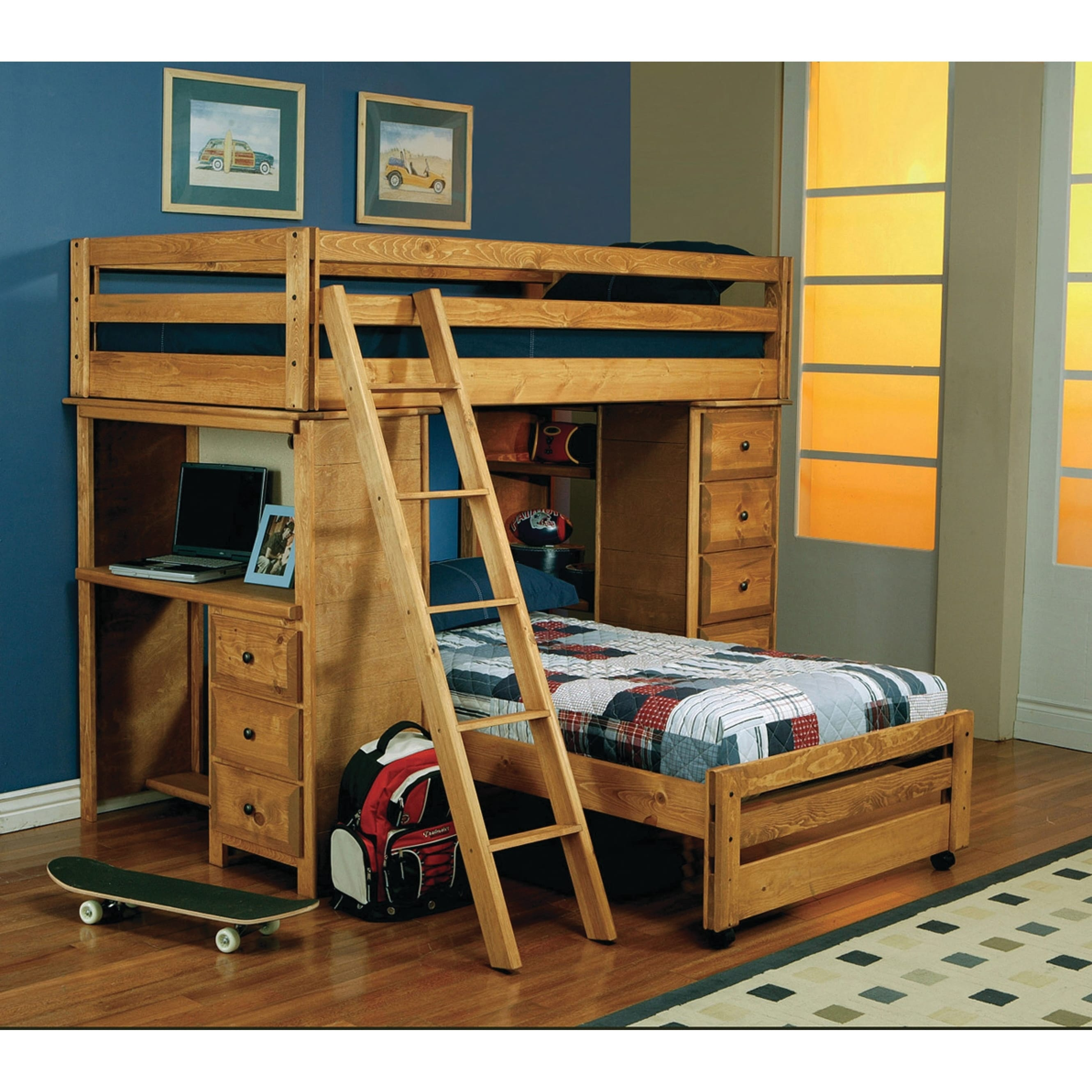 Twin Over Full Bunk With Desk Cheap Online Shopping
