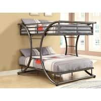 Clay Alder Home Troja Full-over-full Metal Bunk Bed