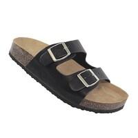 ec47bc0dfa66 Shop YOKI-GIAN-91 women s double buckle footbed sandal - Free ...