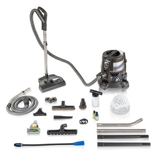 Reconditioned E series E2 Blue Rainbow Vacuum With E2Blue PowerNozzle E tool Hose