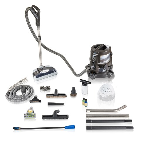 Reconditioned E series E2 Blue Rainbow Vacuum With GV PowerNozzle E tool Hose With New Aftermarket Tools & Attachments