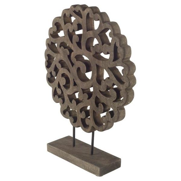 Mercana Edgeworth II Wooden Sculpture