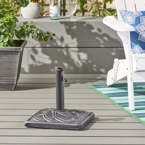 Vita Outdoor 29-pound Concrete Square Umbrella Base by Christopher Knight Home