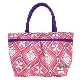 Baggy Everyday Insulated Lunch Bag (Pink Diamonds)