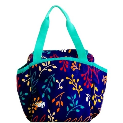 Baggy Joy Insulated Lunch Bag (Floral Colors)
