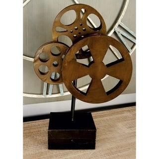 Carbon Loft Kellogg Metal Movie Reel Table Stand