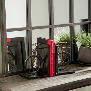 Carbon Loft Kellogg Metal Bicycle Bookend (Set of 2)