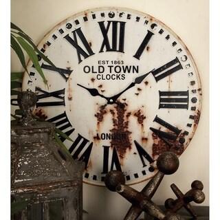 Carbon Loft Kellogg Metal Wall Clock (Set of 2)