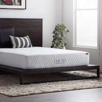 Lucid Comfort Collection 10-inch Twin Size Gel Memory Foam Mattress