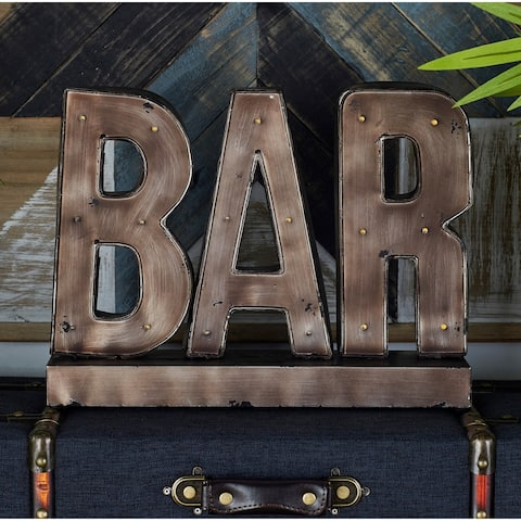Carbon Loft Kellogg Metal LED Bar Sign