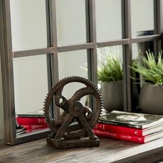 Carbon Loft Ferris Industrial-style Rusted Gear Decor