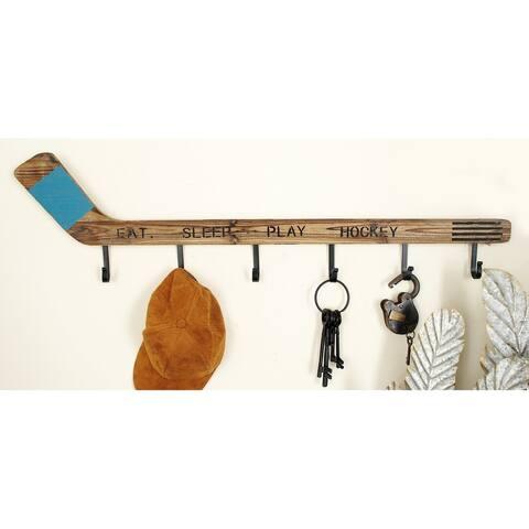 Carbon Loft Semmelweis Wood/ Metal Hockey Wall Hook