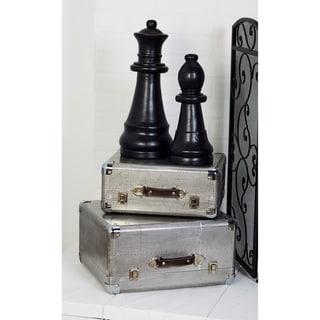Carbon Loft Whittle Wood Aluminum Cases (Set of 2)